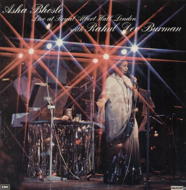Asha Bhosle, R. D. Burman – Live At Royal Albert Hall, London;vinyl_record gramophone house